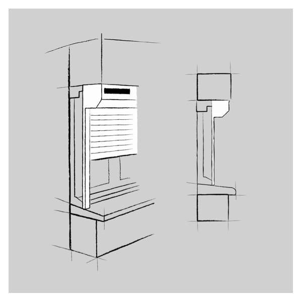 volet roulant solaire sur mesure alu pvc jeposemonvolet. Black Bedroom Furniture Sets. Home Design Ideas